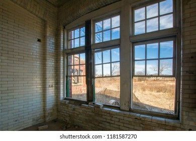 View out of old windows