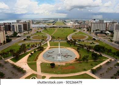 View out towards Brasilia, the capital of Brazil