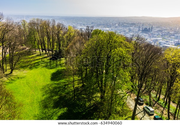 View over Aachen City from Lousberg