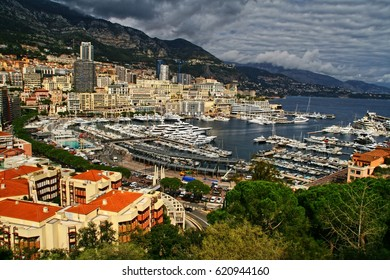 View over the bay of Monaco