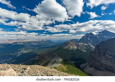 View over Bow Valley, in Banff National Park