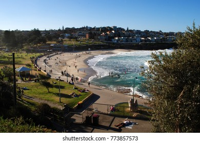 View over Bronte Beach, Sydney, Australia