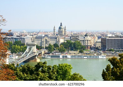 View Over Budapest From Castle Hill - September 2016 - Budapest, Hungary