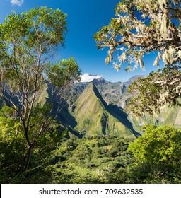 View over Cirque de Mafate, La Reunion, France