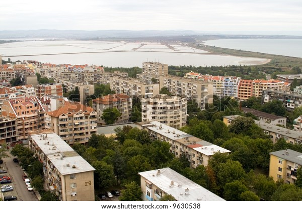 View over the city - Burgas ( Bulgaria )