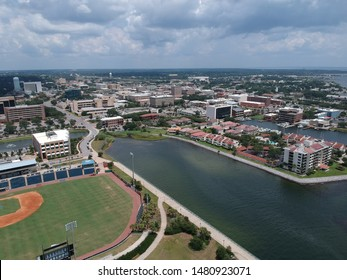 View over downtown Pensacola, Florida this summer!
