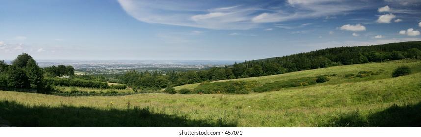 View over Dublin, Ireland