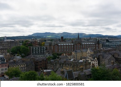 View over Edinburgh from Castlehill