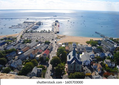 View over the harbour of Provincetown, Masschusetts, USA.