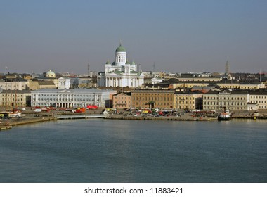 View over Helsinki