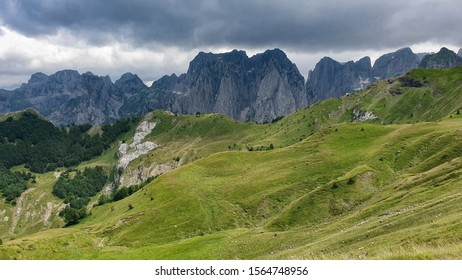 View over Karanfili mountains in NP Prokletije, Montenegro