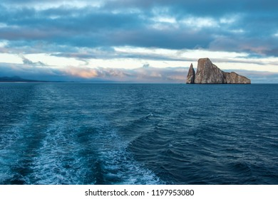View over Kicker Rock, Galapagos Islands