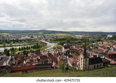 View over Klingenberg / Germany