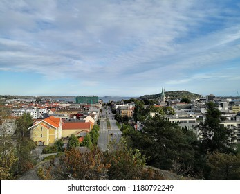 View over Kristiansand