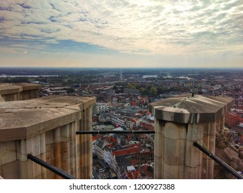 A view over Mechelen from St. Rumbold's Cathedral