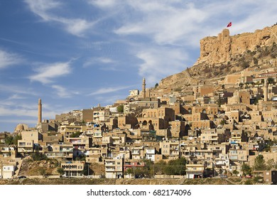 View over the old city of Mardin, Turkey.
