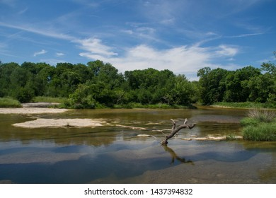 View over Onion Creek in McKinney Falls State Park