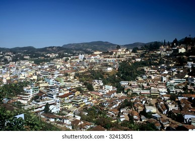 View over Ooty in Tamil Nadu Province,India