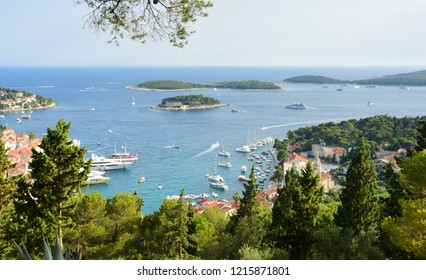 View over the Pakleni Islands - Hvar, Croatia
