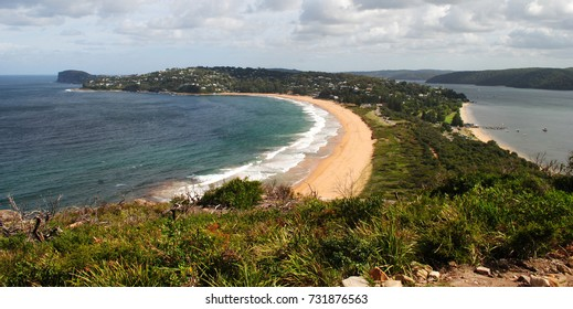View over Palm Beach, Sydney