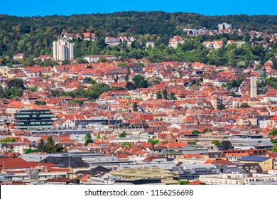 View over the roofs of Stuttgart, Germany