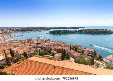 View over Rovinj