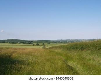 A view over the Rutland countryside towards Lyddington