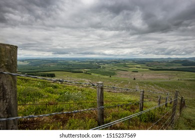 View over the scottish borders.