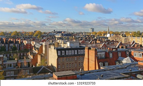 View Over South Kensington Roofs in London