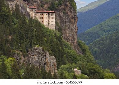View over the Sumela Monastery, Trabzon, Turkey