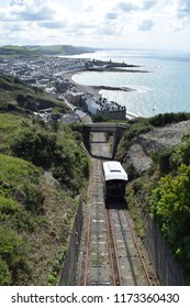 View Over Town, Aberystwyth Cliff Railway