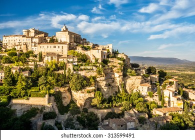 View over the village of Gordes, Vaucluse, Provence, France