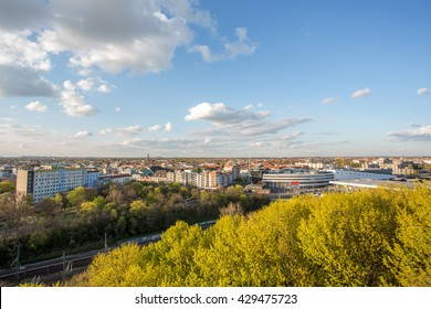 View Over Wedding / Berlin from the flak tower Humboldthain