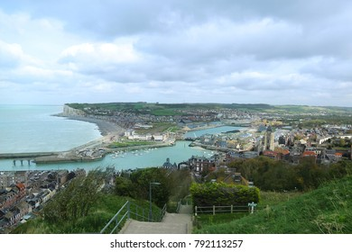 View overlooking the town. Boulogne-sur-Mer, France.