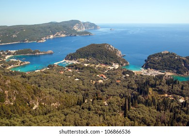 View of Paleokastrica, Corfu, Greece
