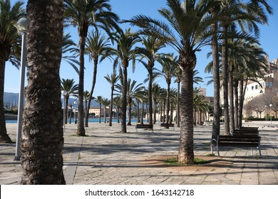 View of Palma De Mallorca in Spain. Recent travel photos that are unedited