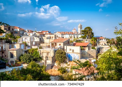 View of Pano Lefkara village in Larnaca district, Cyprus.