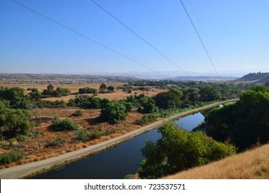 View of Panorama Vista Preserve during Summer Season, Bakersfield, California.
