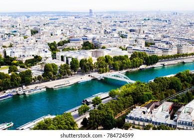 View of Paris From Above