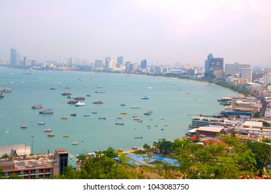 A View of Pattaya Beach at Daytime