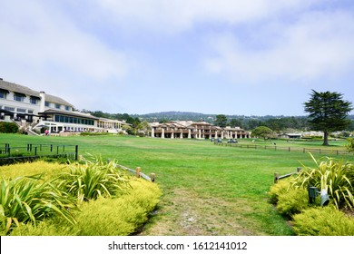 View of Pebble Beach Golf Links