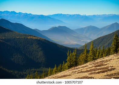 View from Pedley Pass near Invermere, British Columbia, Canada