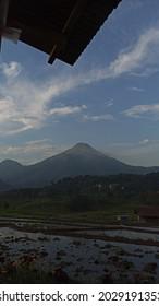 The view of the Penanggungan mountain in Trawas, Jawa Timur, Indonesia - Shutterstock ID 2029191353