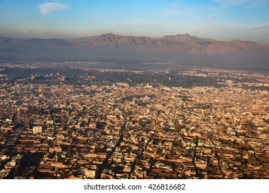 View of Peshawar, the capital of the Khyber Pakhtunkhwa province of Pakistan