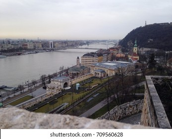 View of Pest and Danube from Buda castle