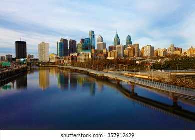 A view of Philadelphia, Pennsylvania skyline