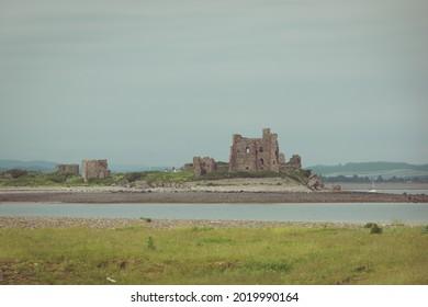 View of Piel Castle from Walney Island, Furness Islands Group