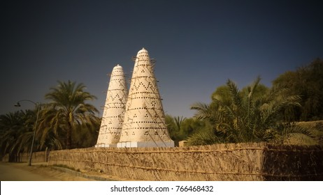 View to Pigeon tower at Siwa oasis, Egypt