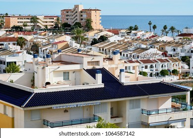 View to the Pilar de la Horadada town. Costa Blanca. Province of Alicante, in the southeast of Spain.