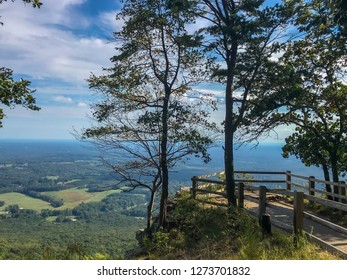 A view in Pilot Mountain State Park, North Carolina